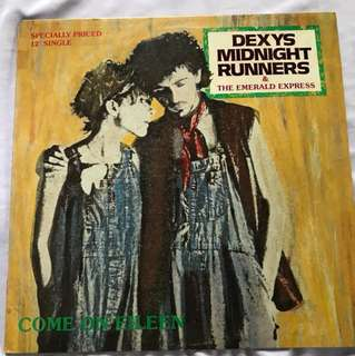 "Vinyl Record Dexy's  Midnight Runner - Come On Eileen -12"" Vinyl"