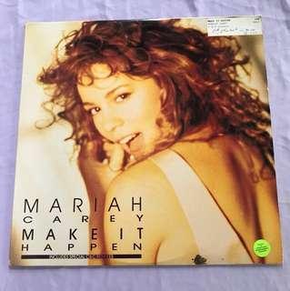 "Vinyl Record Mariah Carey - Make It Happen 12"" Vinyl"