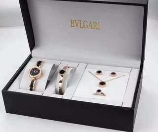 BVLGARI 殿堂級佳作 女仕腕表套裝 高端定制