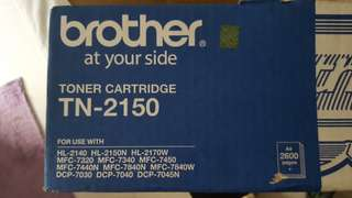 Bnib Brother Toner Cartridge TN-2150