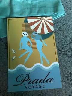 PRADA VOYAGE POST CARD Limited