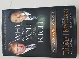 Robert t kiyosaki, why we want you to be rich