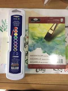 Watercolor set