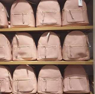 Miniso babypink mini backpack