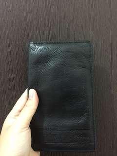 Fossil lufkin wallet black