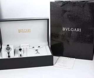 BVLGARI最新鈦鋼女仕項鍊 五件套