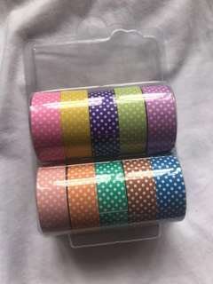 paper tape set of 10
