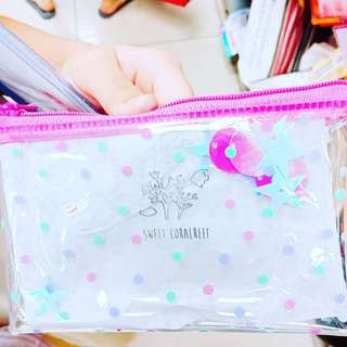 Transparent purse