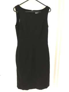 H&M Black work dress