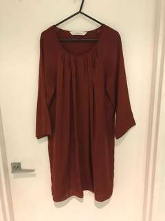 Seed long sleeve dress