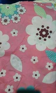 Queen Size bedsheet with blanket and 2 regular size blanket