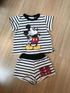 Baju anak disney mickey mouse branded zara