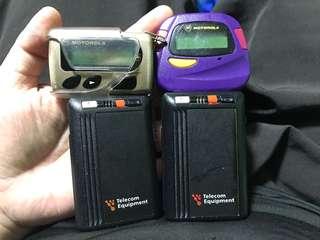 Old vintage Motorola pagers x 04