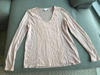 Long sleeve witchery top
