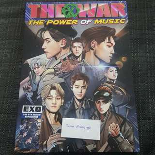 EXO The War: The Power of Music Album (Korean Ver.)