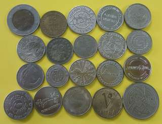 TOKEN ( 20 PCS ) SET 3