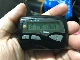 Vintage Avont Singapore Singtel pager (working)