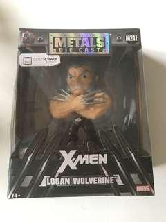 Metals Die Cast Logan Wolverine