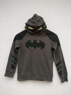 KIDS H&M X BATMAN SWEATER HOODIE