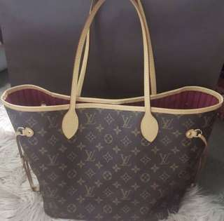 Auth Louis Vuitton Neverfull Mm Receipt
