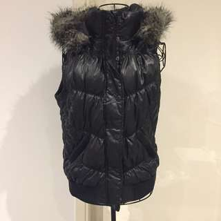 (L) Esprit hooded vest