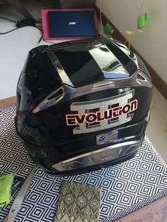 Helmet EVO 2  8/10 condition Size M