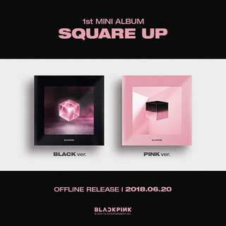 (PRE ORDER) BLACKPINK 1st Mini Album 'SQUARE UP'