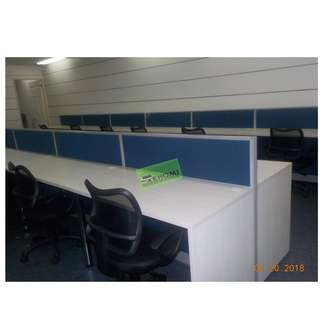 15 SEATER CUSTOMIZE LINEAR WORKSTATIONS--KHOMI