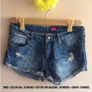 3862 DENIM SHORTS
