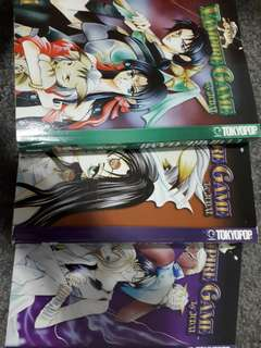Vampire game Volumes 1-3