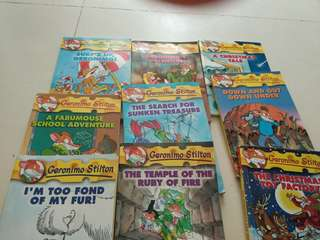 Thea stilton and many geronimo stilton
