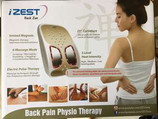 Izest back zen (back pain physio therapy)