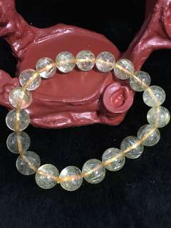 Rutilated Quartz Bracelet 发晶手链