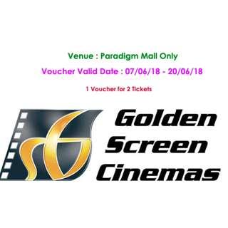 GSC Voucher (2 Tickets)