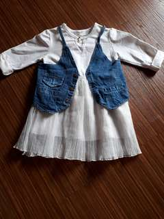 Dress anak korea