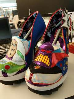 Limited Edition Irregular Choice Toy Story heels