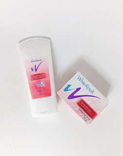 Bundle: Glutathione Hand & Body Lotion and Whitening Soap with Free Red Pouch