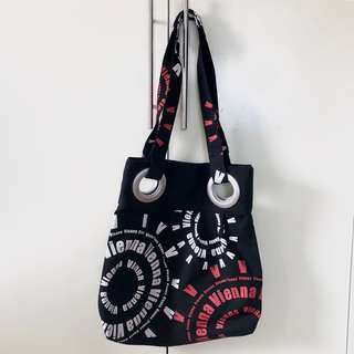 Canvas bag from Vienna