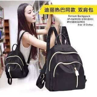KOREAN BACKPACK Size: 10 Inches  Price : 300