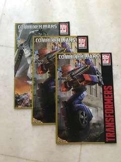 transformers combiner wars comics