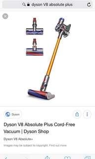Dyson V8 Absolute Plus