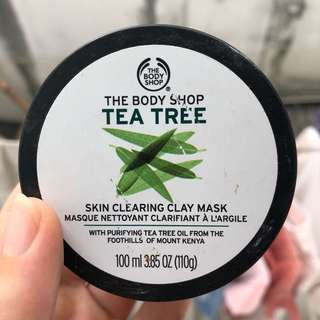The Body Shop Teatree Skin Clearing Clay Mask
