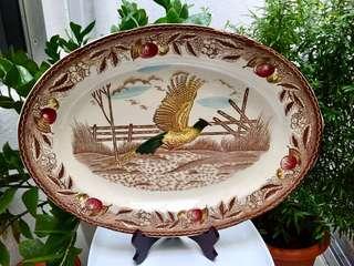 Large Pheasant Plate