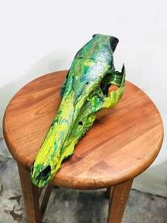Sales Original skull - handmade hydro Dip