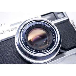Olympus 35SP rangefinder film camera