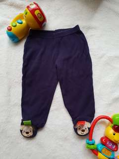 Taggies footed pants 6M
