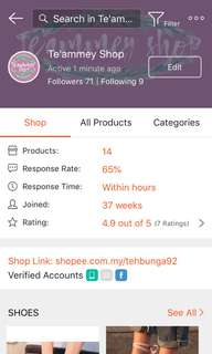 Shopee Account