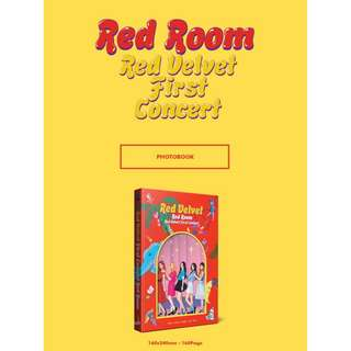 RED VELVET - RED ROOM - RED VELVET FIRST CONCERT