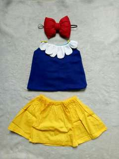 Snow white terno