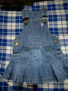 Us polo assn. Denim romper